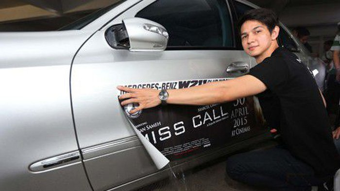 30 Luxury Cars Iringi Marcell Darwin Towards Premier 'MISS CALL'